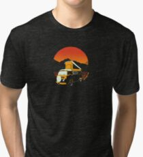 2 Frogs in the West - Official Clothing Wear  Tri-blend T-Shirt
