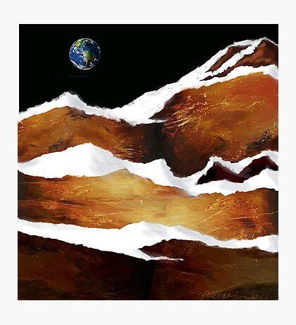 """Moon Over Planet X"" Photographic Print"