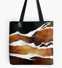 """Moon Over Planet X"" Tote Bag"
