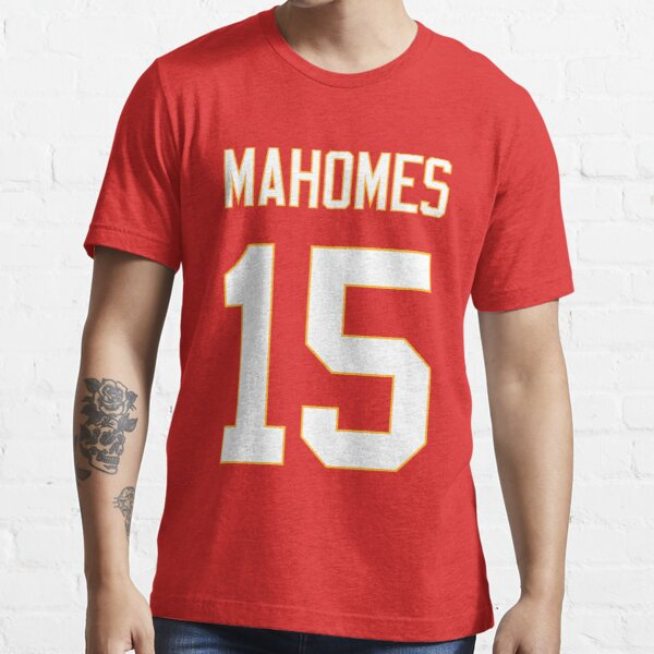 Mahomes 15 GOAT KC Essential T-Shirt