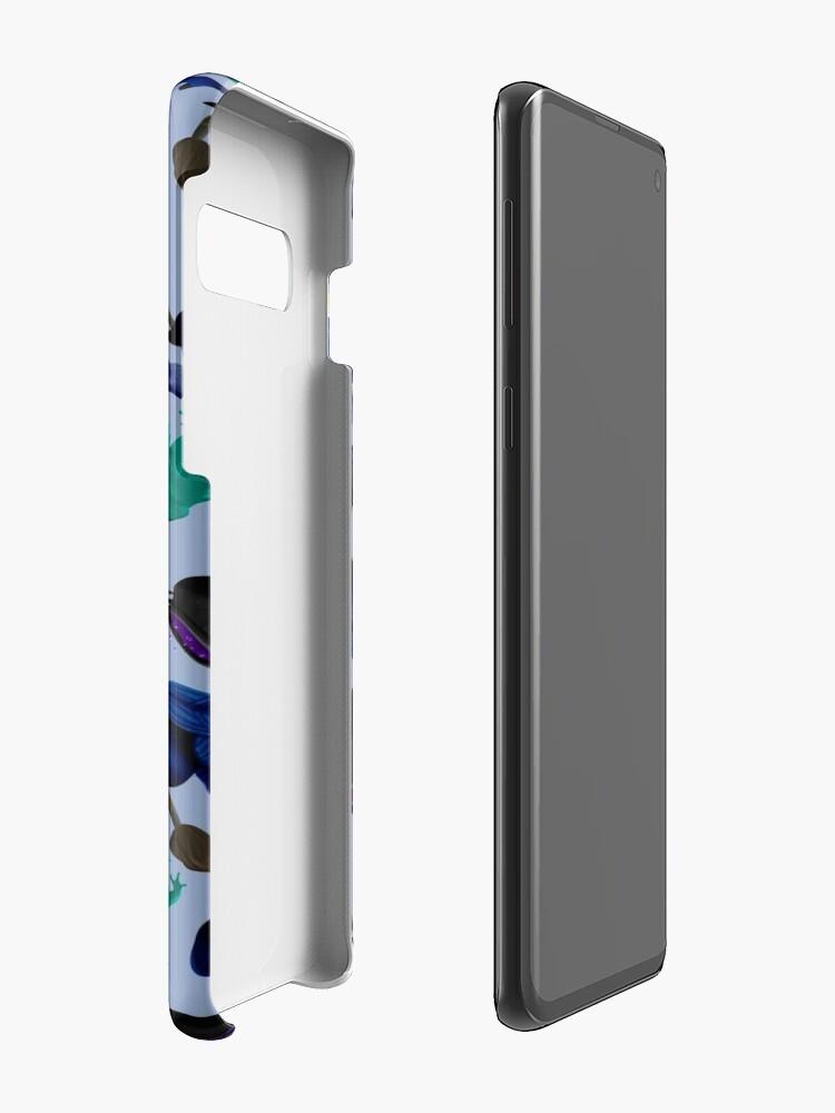 Coque et skin adhésive Samsung Galaxy ''Sorcière': autre vue
