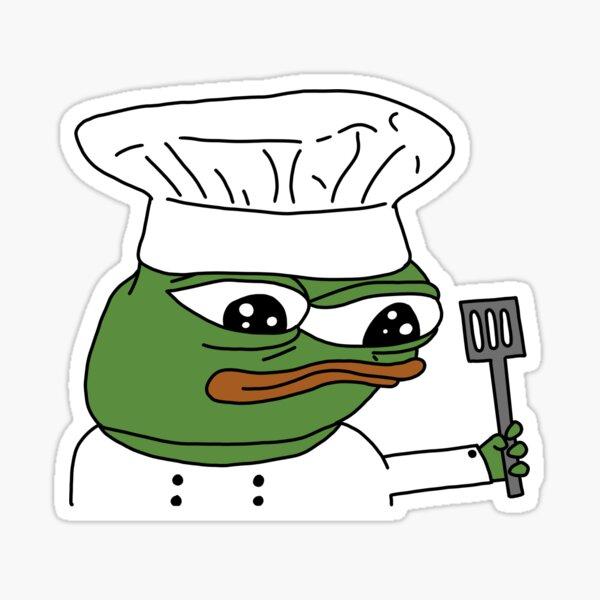 Chef Peepo Pegatina