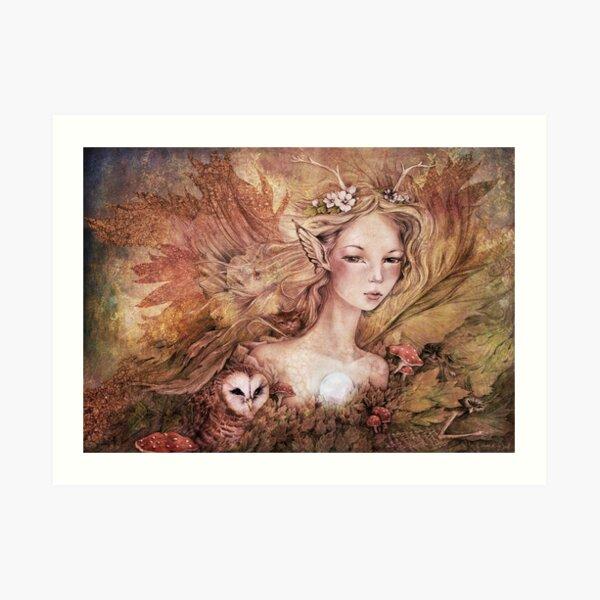 Titania's Daughter - Colored Art Print