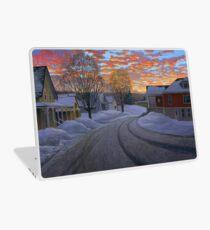 """Sunrise in the Center"" by Reed Prescott Laptop Skin"