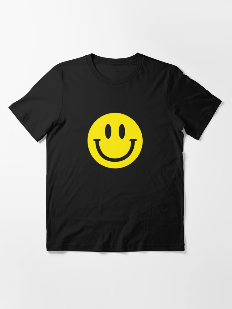 Alternate view of Smiley Face Essential T-Shirt