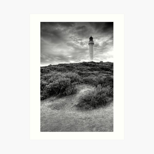 Split Point Lighthouse Art Print