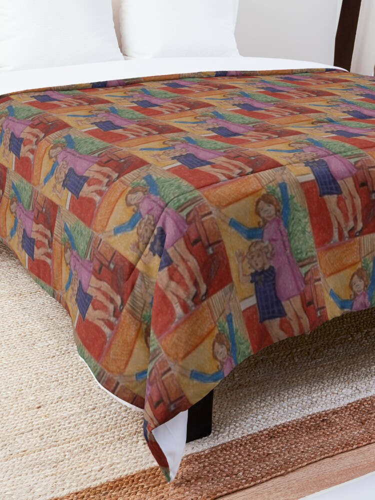Alternate view of Sisters  Comforter