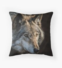 Timber Wolf Floor Pillow