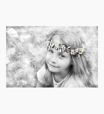 The Daisy Chain Photographic Print