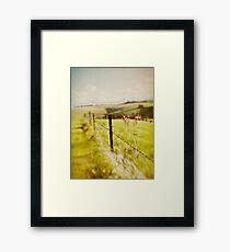 ~ geography of the soul ~ Framed Print