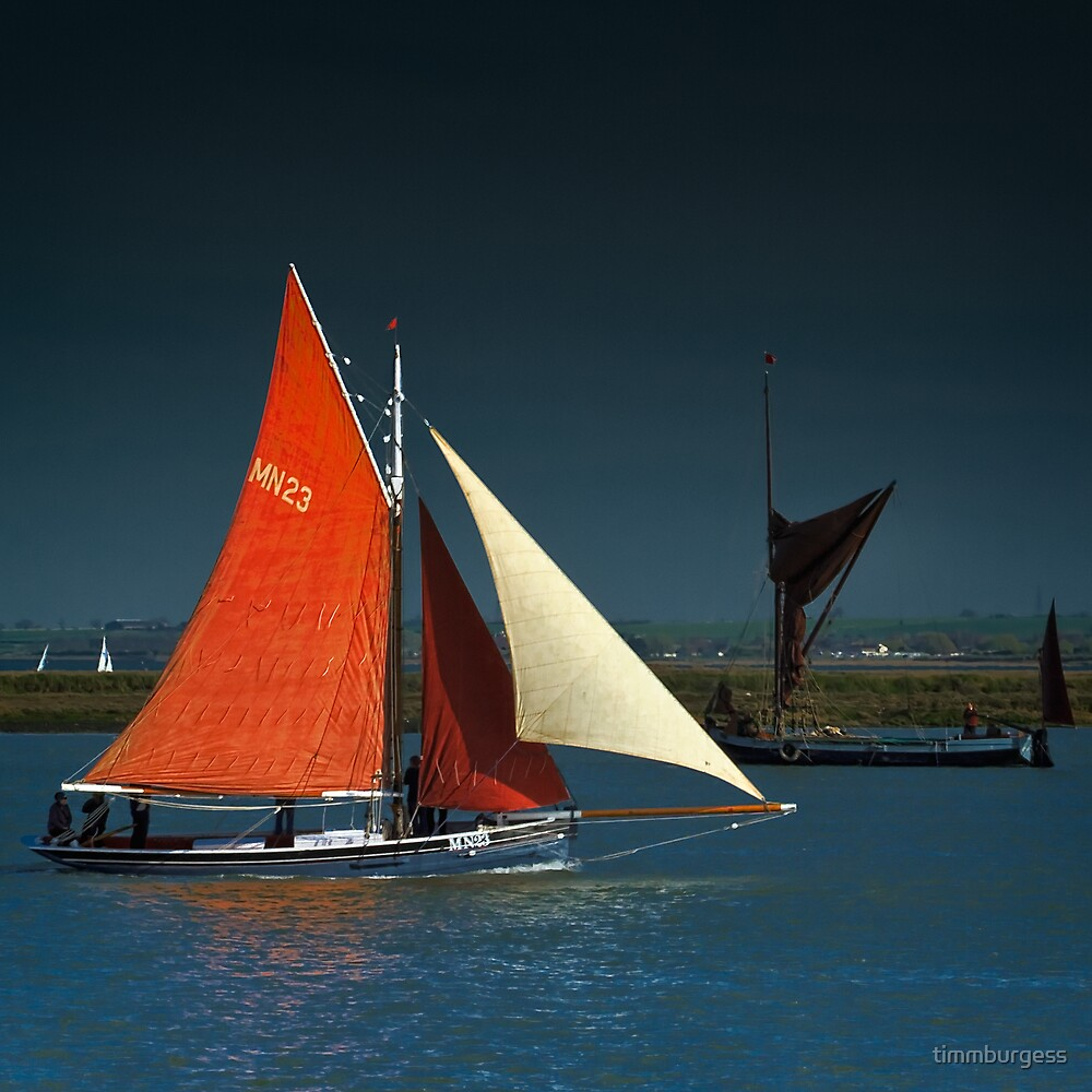 Sailing Smack The Lizzie Annie by timmburgess