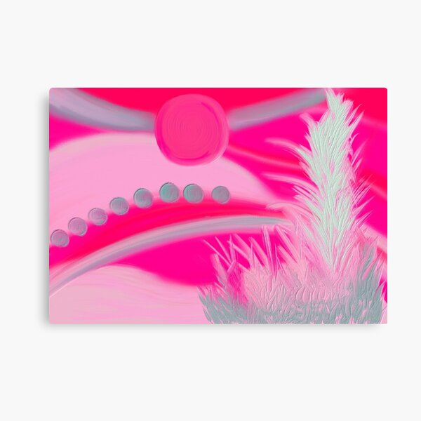 Planet Pink Canvas Print