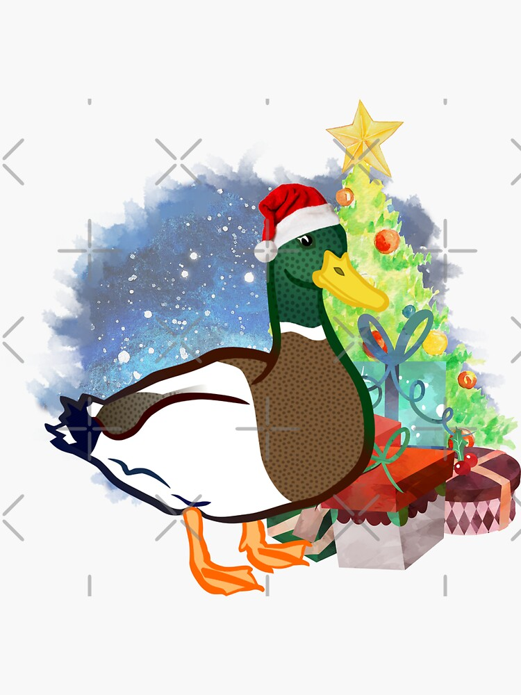 A Duck Christmas by tribbledesign