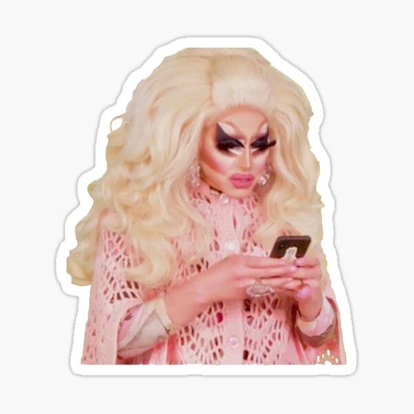 Texting Trixie Sticker