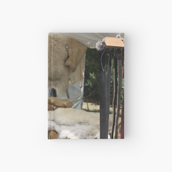 Sheepskin and Leather Drums Hardcover Journal