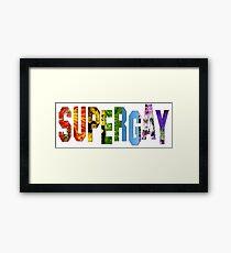 Like Superman Framed Print