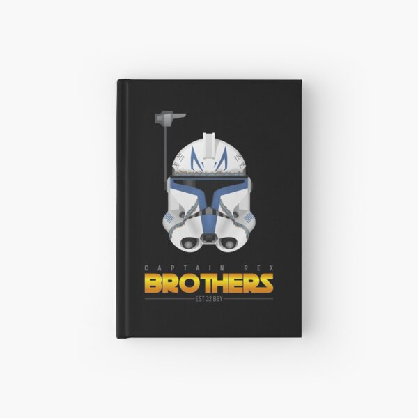 Captain Rex - Brothers Hardcover Journal