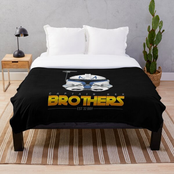 Captain Rex - Brothers Throw Blanket