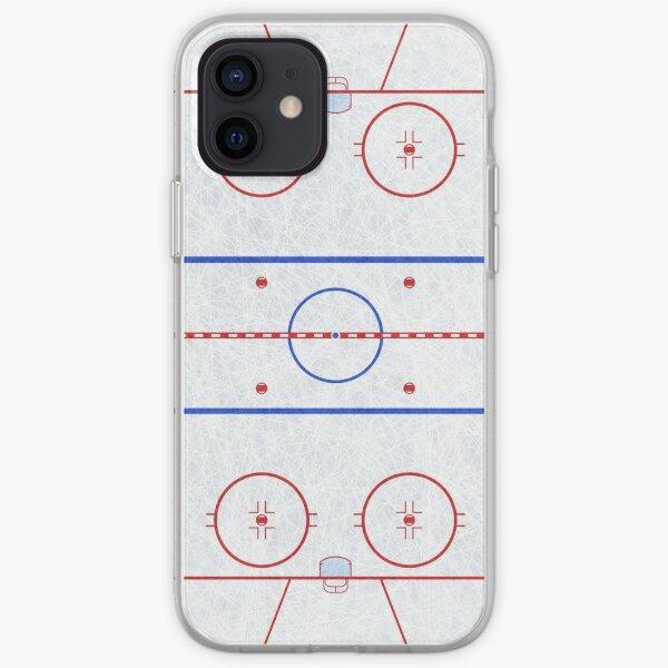Patinoire de hockey sur glace Coque souple iPhone