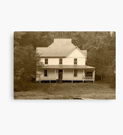Caldwell House II Canvas Print