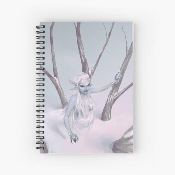 Snow Fairy Spiral Notebook
