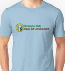 Washington State Liquor und Cannabis Board Slim Fit T-Shirt