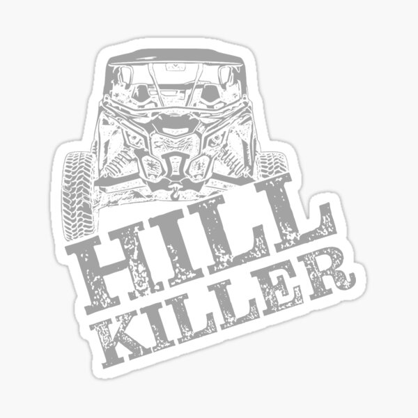 Can-am Hill Killer Sticker