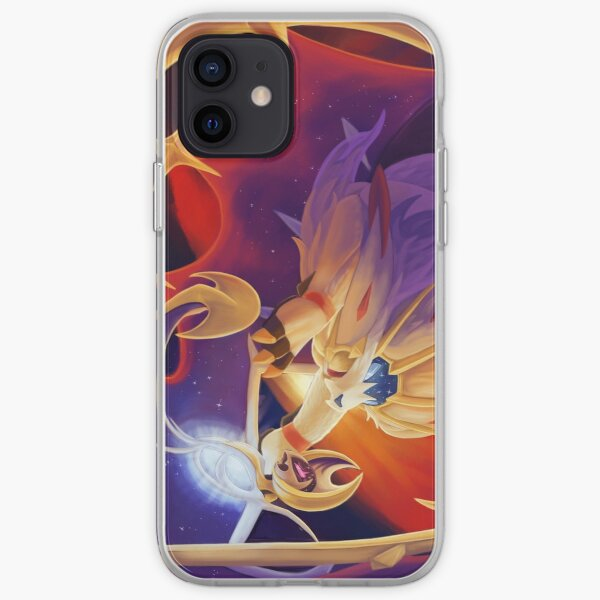 Solgaleo and Lunala iPhone Case & Cover by Hexabeast