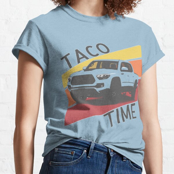 Taco Time Retro style Toyota truck Classic T-Shirt