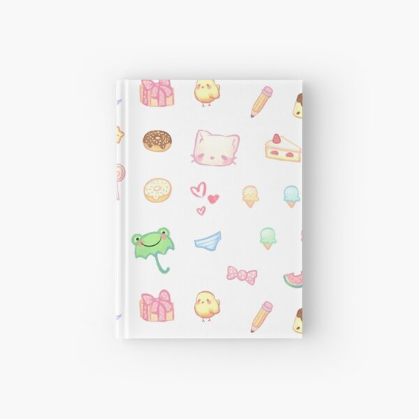 Cute Pastel Set 2 Hardcover Journal