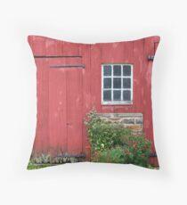 Van Bunschooten Wagonhouse Throw Pillow