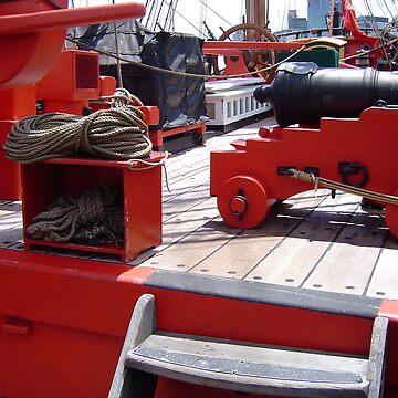 HMS ENDEVOUR (REPLICA) by AussieColin