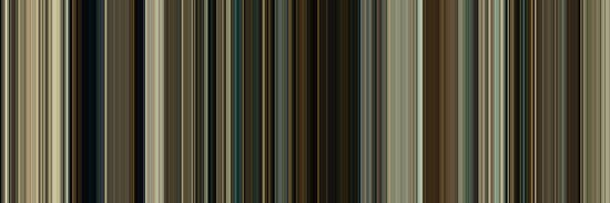 Moviebarcode: No Country for Old Men (2007) [Simplified Colors] by moviebarcode