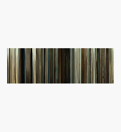 Moviebarcode: No Country for Old Men (2007) Photographic Print
