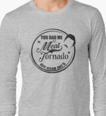 Ron swanson , Meat tornado Long Sleeve T-Shirt