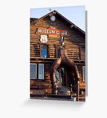 Museum Club Greeting Card