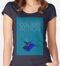 Ho'oponopono Action Colibri Women's Fitted Scoop T-Shirt