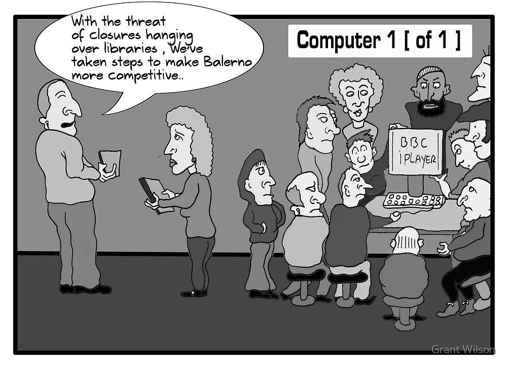 Currie and Balerno News Cartoon March 2011 by Grant Wilson