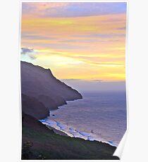 napali coast Poster