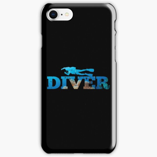 Scuba Diving - Diver iPhone Snap Case