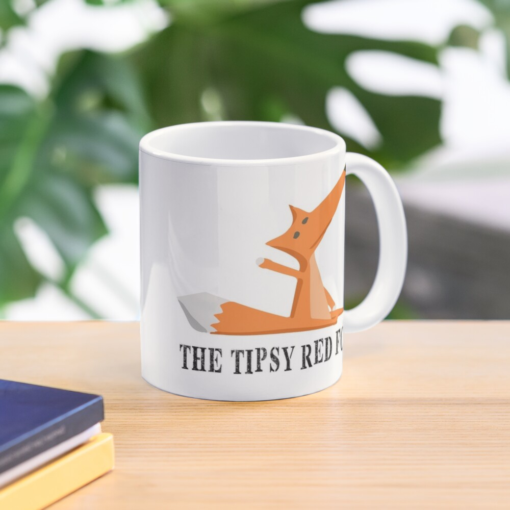 The Tipsy Red Fox T-Shirts - Clothes and Home decor Mug