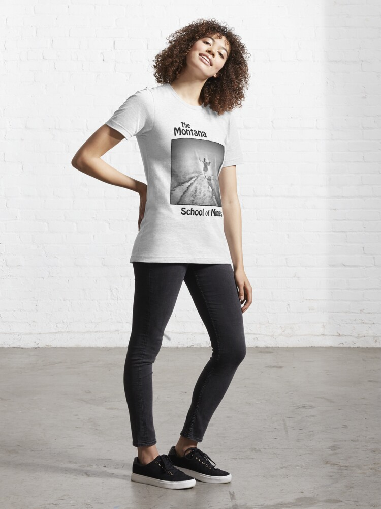 Alternate view of The Montana School of Mimes Essential T-Shirt