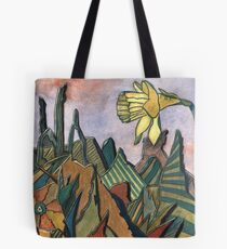 95 - LANDSCAPE WITH DAFFODIL - DAVE EDWARDS - WATERCOLOUR - MAY 2003 Tote Bag