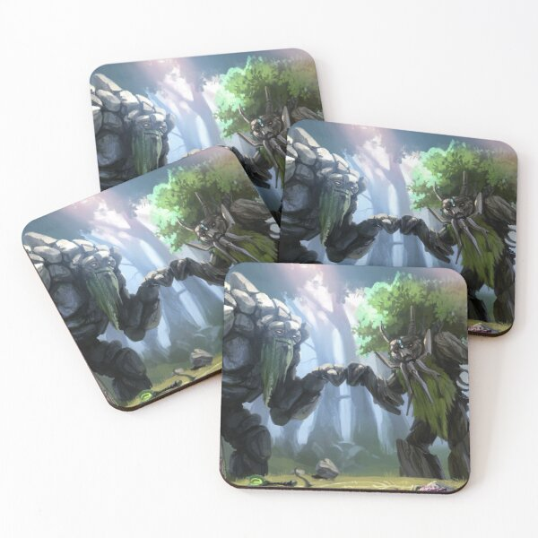 Dota 2 Treant Protectors Coasters (Set of 4)