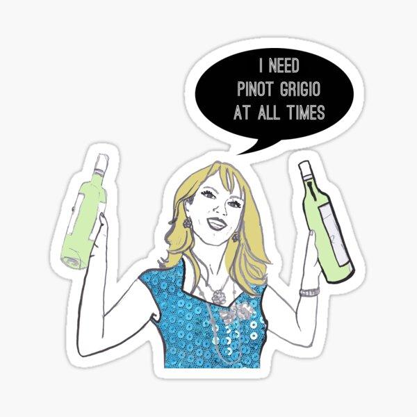 Pinot Grigio Sticker