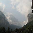 As Seen from the Parking Lot - Lauterbrunnen, CH by Danielle Ducrest