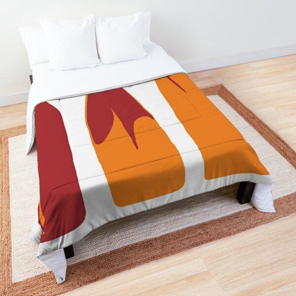Rowing Oars Evolution in orange Comforter