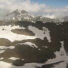 Seeing Over the Tops of Clouds - Mt. Shilthorn, CH by Danielle Ducrest