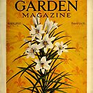 Lilies On Vintage Gardening Magazine Cover  by Douglas E.  Welch