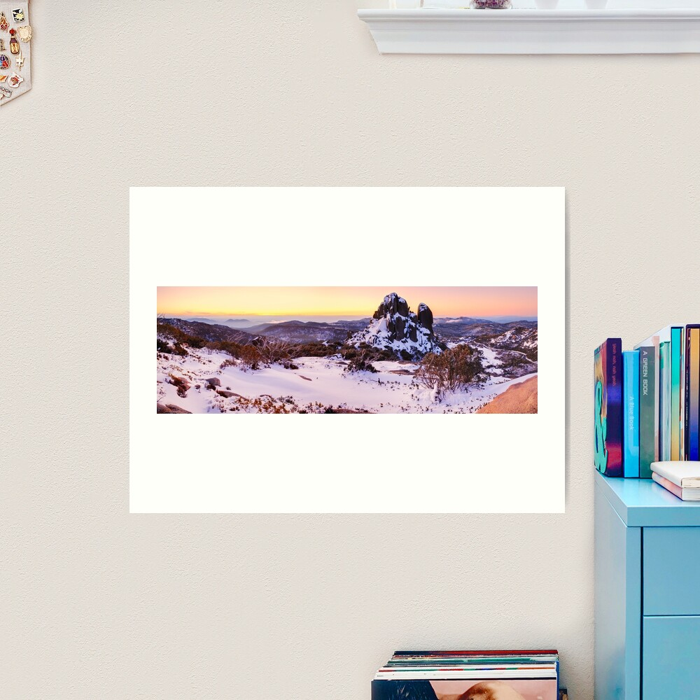The Cathedral, Mt Buffalo, Victoria, Australia Art Print